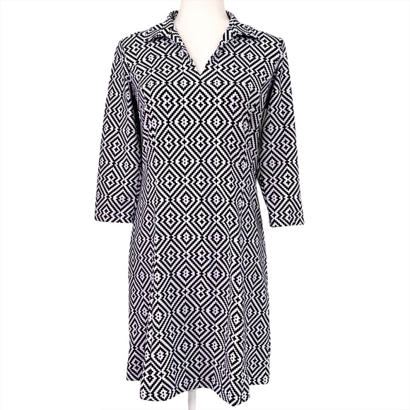J.McLaughlin Cadence Catalina Cloth Shirt Dress S